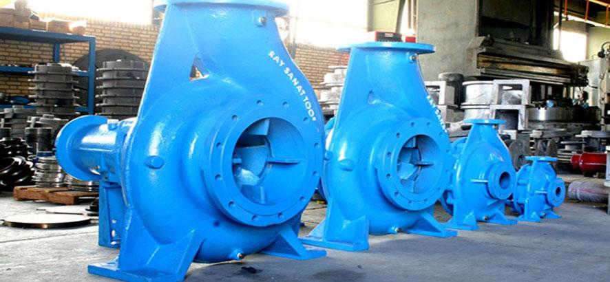 پمپ های آب صنعتی